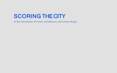 Scoring the City Booklet